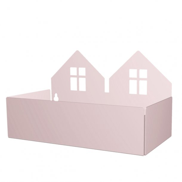 TWIN HOUSE BOX pale rose
